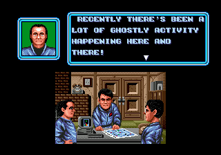 Ghostbusters - Symbian game screenshots. Gameplay Ghostbusters.