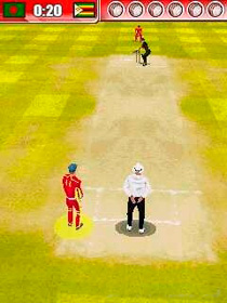 Welt-Cricket - Symbian-Spiel Screenshots. Spielszene Global Cricket.
