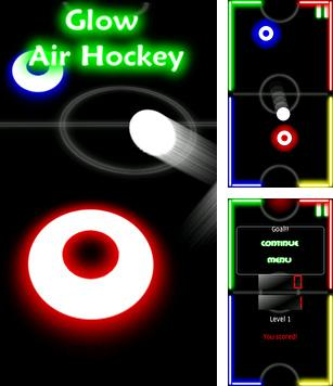 In addition to the sis game Real Golf 2011 for Symbian phones, you can also download Glow Air Hockey for free.
