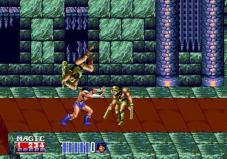 Golden axe 2 - Symbian game screenshots. Gameplay Golden axe 2.
