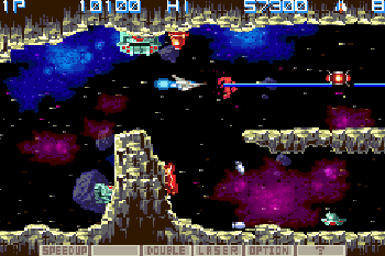 Play Gradius Galaxies for Symbian. Download top sis games for free.