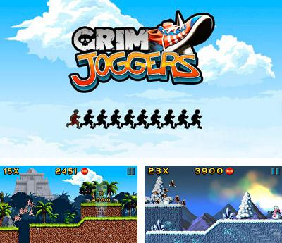 In addition to the sis game Toss for Symbian phones, you can also download Grim joggers for free.