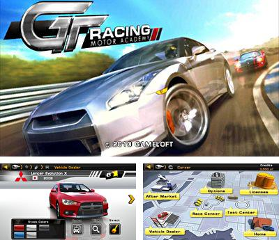 In addition to the sis game Real Football 2006 3D for Symbian phones, you can also download GT Racing Motor Academy HD for free.