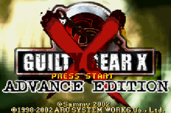 Guilty Gear X Advance Edition
