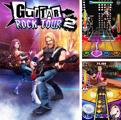 In addition to the sis game Wave for Symbian phones, you can also download Guitar rock tour 2 HD for free.