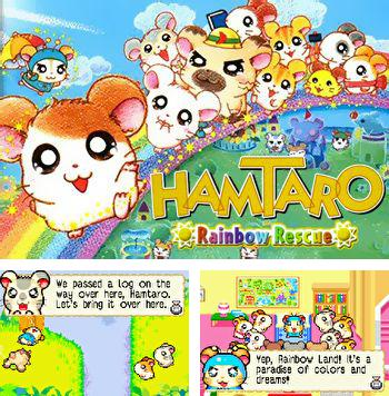 In addition to the sis game Buggy Coaster for Symbian phones, you can also download Hamtaro: Rainbow rescue for free.