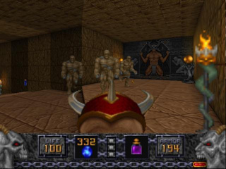 Heretic - Symbian game  Heretic sis download free for mobile