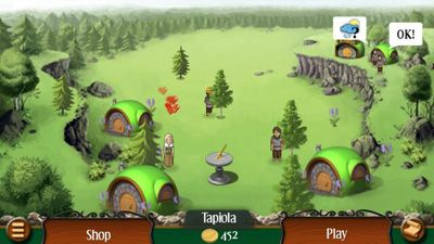 Heroes of Kalevala - Symbian game screenshots. Gameplay Heroes of Kalevala.