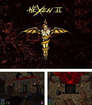 In addition to the sis game Swords and Serpents for Symbian phones, you can also download Hexen 2 for free.