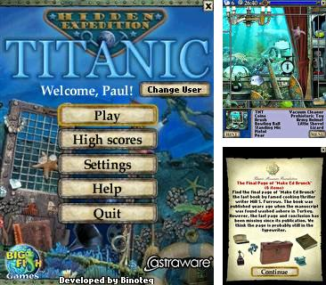 In addition to the sis game Pick Sticks for Symbian phones, you can also download Hidden Expedition Titanic for free.
