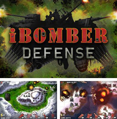 In addition to the sis game Robo-E for Symbian phones, you can also download iBomber Defense for free.