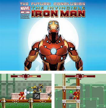 In addition to the sis game James Bond Jr for Symbian phones, you can also download Invincible Iron Man for free.