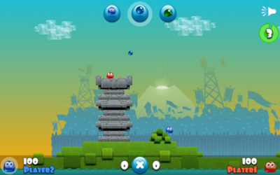 Jelly Wars - Symbian game screenshots. Gameplay Jelly Wars.