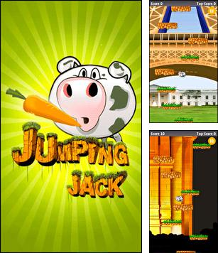 In addition to the sis game Brett Hull hockey 95 for Symbian phones, you can also download Jumping Jack for free.