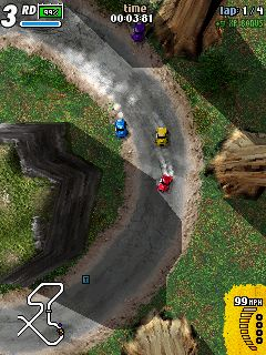 K-Rally download free Symbian game. Daily updates with the best sis games.