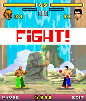 Karma Fighter download free Symbian game. Daily updates with the best sis games.