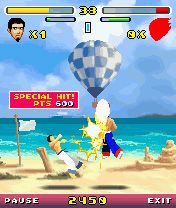 Karma Fighter - Symbian game screenshots. Gameplay Karma Fighter.