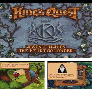 In addition to the sis game Frogger advance: The great quest for Symbian phones, you can also download King's Quest 5: Absence Makes the Heart Go Yonder for free.