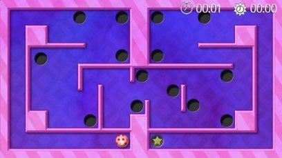 Labyrinth - Symbian-Spiel Screenshots. Spielszene Labyrinth Touch.