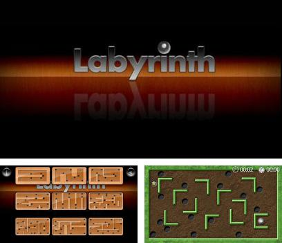 In addition to the sis game Kick Master for Symbian phones, you can also download Labyrinth Touch for free.