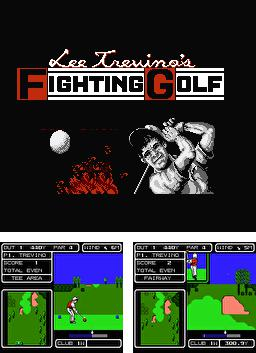 Lee Trevino Fighting Golf