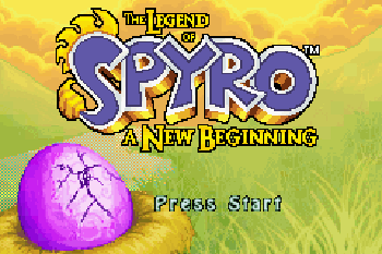 Legend of Spyro The A New Beginning