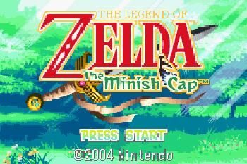 Legend of Zelda The Minish Cap