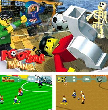 In addition to the sis game Duck Hunter for Symbian phones, you can also download LEGO Football mania for free.