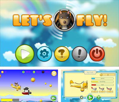 In addition to the sis game Tom Clancy's H.A.W.X HD for Symbian phones, you can also download Let's Fly! for free.