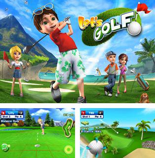 In addition to the sis game Alien 3 for Symbian phones, you can also download Let's Golf HD for free.