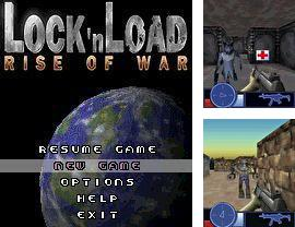 In addition to the sis game Real football 2009 3D for Symbian phones, you can also download Lock'n Load: Rise of war for free.