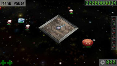 Super Spionjäger - Symbian-Spiel Screenshots. Spielszene Super Spy Hunter.