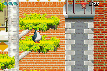 Madagaskar: Operation Pinguin - Symbian-Spiel Screenshots. Spielszene Madagascar: Operation Penguin.