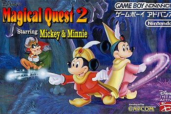 Magical quest starring Mickey and Minnie