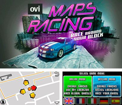 In addition to the sis game James Bond Jr for Symbian phones, you can also download Maps racing for free.