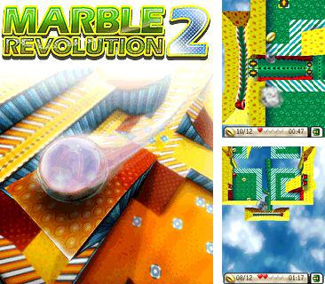 In addition to the sis game SpongeBob Battle for Bikini Bottom for Symbian phones, you can also download Marble revolution 2 for free.