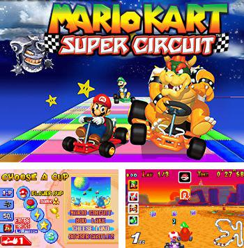 In addition to the sis game SpongeBob Battle for Bikini Bottom for Symbian phones, you can also download Mario kart: Super circuit for free.