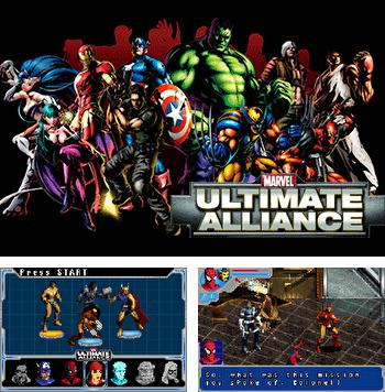 In addition to the sis game Lament island for Symbian phones, you can also download Marvel Ultimate Alliance for free.