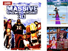 In addition to the sis game Smashing drive for Symbian phones, you can also download Massive snowboarding 3D for free.