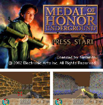 In addition to the sis game Castelian for Symbian phones, you can also download Medal of Honor: Underground for free.