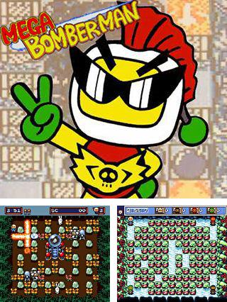 In addition to the sis game NFL '95 for Symbian phones, you can also download Mega Bomberman for free.