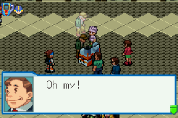 Megaman: Battle network. 4 Blue moon - Symbian game screenshots. Gameplay Megaman: Battle network. 4 Blue moon.