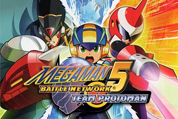 Megaman: Battle network 5  Team Protoman - Symbian game