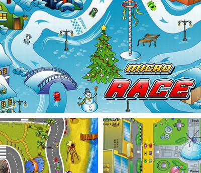 In addition to the sis game Napoleon for Symbian phones, you can also download Micro race for free.