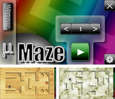 In addition to the sis game Brothers in arms 3D: Earned in blood for Symbian phones, you can also download MicroMaze for free.