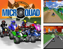 In addition to the sis game Jaws for Symbian phones, you can also download MicroQuad for free.