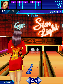 Play Midnight bowling 3D for Symbian. Download top sis games for free.