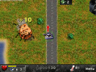 MLT: My little tank - Symbian game screenshots. Gameplay MLT: My little tank.