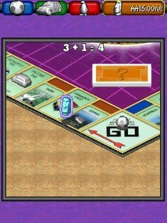 Monopolie: Maintenant et ici. L'Edition Mondiale - Écrans du jeu Symbian. Gameplay Monopoly Here and Now World Edition.