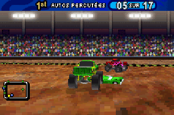 Monster Trucks - Symbian-Spiel Screenshots. Spielszene Monster Trucks Mayhem.
